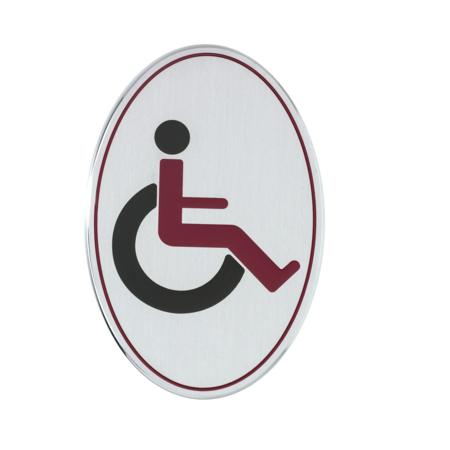CombiCraft Invalide toiletbordje Aluminium - Jaren '20 design