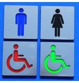 CombiCraft Toiletten algemeen toiletbordje Serie Plex