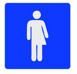 CombiCraft Genderneutraal toiletbordje Serie Plex