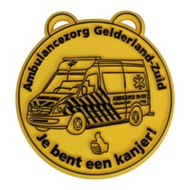 Kunststof Medailles tot 25 cm² in uw ontwerp v.a.