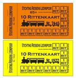 CombiCraft 100 Knipkaarten met zwarte druk in 1 ontwerp, op gekleurd of wit papier.