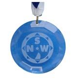 CombiCraft Glas medaille met jouw eigen ontwerp
