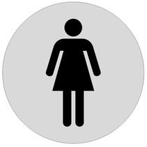 Dames toiletbordje Aluminium