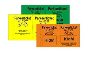 Parkeertickets