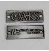 CombiCraft Brons gegoten Logo-plaatje/merkje  in reliëf in 40x15mm of 80x19mm