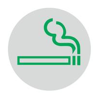 Roken toegestaan bordje