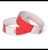 TYVEK® Blanco TYVEK© polsbandjes in 16 kleuren - 100 stuks