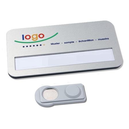 CombiCraft Badgemaster 35 - Naambadge met uw logo en magneetsluiting