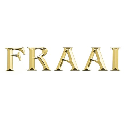 CombiCraft Losse cijfers en letters Gepolijst messing 75mm hoog Schrift Klassiek hoofletters