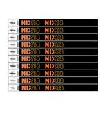 TYVEK® TYVEK© polsbandjes NIX18 - 100 stuks
