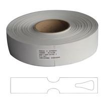 Blanco Sleufetiketten Metaaldetectie 500 stuks