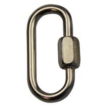 Schroefschakel of openschroefbare ring