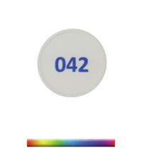 Munten bedrukt met doorlopende nummering