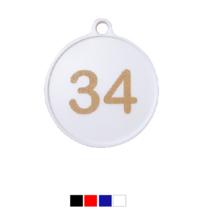 Nummerplaatjes Polystyreen