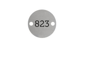 Aluminium Nummerplaatjes