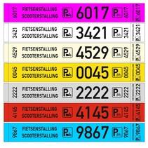 Fietsenstalling labels