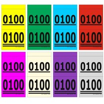 1000 Dubbelnummers - Lootjes - VERDANA