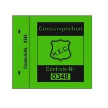 Consumptiebon 1x1 met nummering