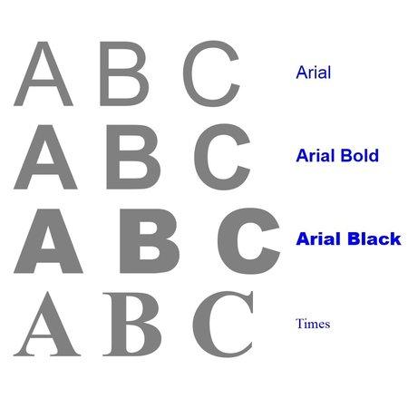 CombiCraft Letters en cijfers van geëloxeerd Zilverkleurig, Goudkleurig of gekleurd Aluminium in 3D  van 40 tot 300 mm hoogte in vier verschillende lettertypes