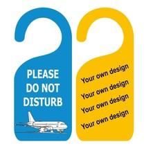 Eigen ontwerp Niet-Storen deurhangers