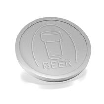 Plastic Biermunten, Consumptiemunten,  250 stuks