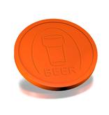 CombiCraft Plastic Biermunten, Consumptiemunten, met rand 250 stuks Ø29mm diverse kleuren