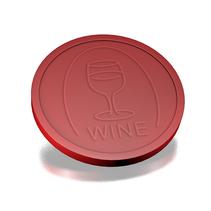 Plastic Wijnmunten, Consumptiemunten,  250 stuks