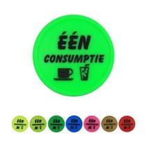 Consumptiemunt, één consumptie, 100 stuks