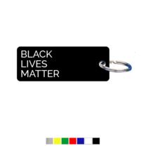 Black Lives Matter Sleutellabel