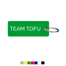 Team Tofu Sleutellabel