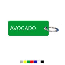 Avocado Sleutellabel