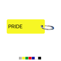 Pride Sleutellabel
