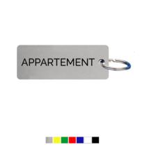 Appartement Sleutellabel