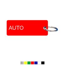 Auto Sleutellabel