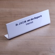 Kelby Bureau Naambordje of Tafel naambordje