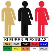 Genderneutraal in Plexiglas (PB1)