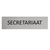 Aluminium Deurbordje Secretariaat