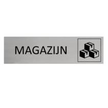 Aluminium Deurbordje Magazijn