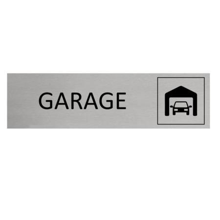 CombiCraft Aluminium Deurbordje Garage 165x45mm met tape