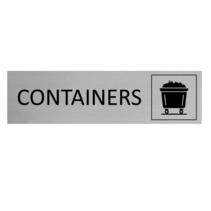 Aluminium Deurbordje Containers