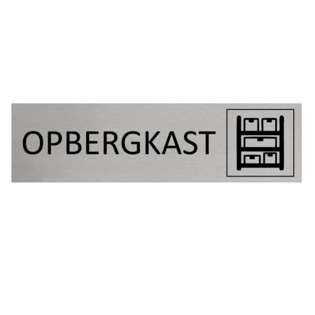 CombiCraft Aluminium Deurbordje Opbergkast 165x45mm met tape