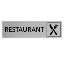 Aluminium Deurbordje Restaurant