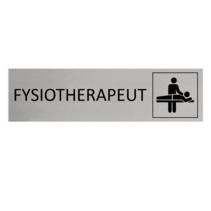 Aluminium Deurbordje Fysiotherapeut