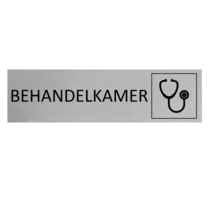 Aluminium Deurbordje Behandelkamer of Dokter