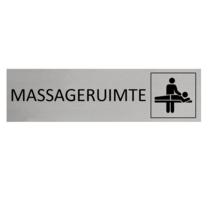 Aluminium Deurbordje Massageruimte