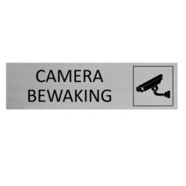 Aluminium Deurbordje Camerabewaking