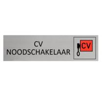 Aluminium Deurbordje CV Noodschakelaar