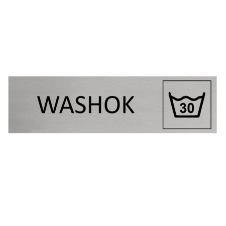 CombiCraft Aluminium Deurbordje Washok 165x45mm met tape