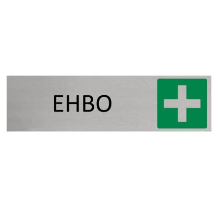 CombiCraft Aluminium Deurbordje EHBO 165x45mm met tape