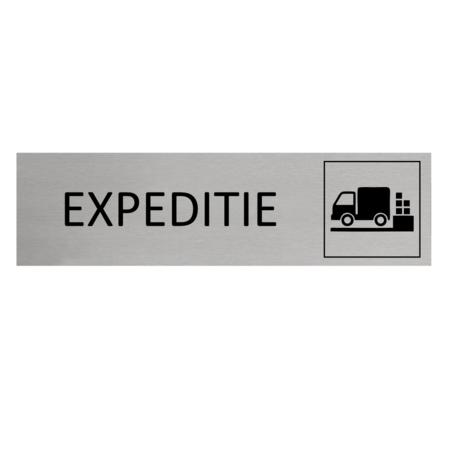 CombiCraft Aluminium Deurbordje Expeditie 165x45mm met tape